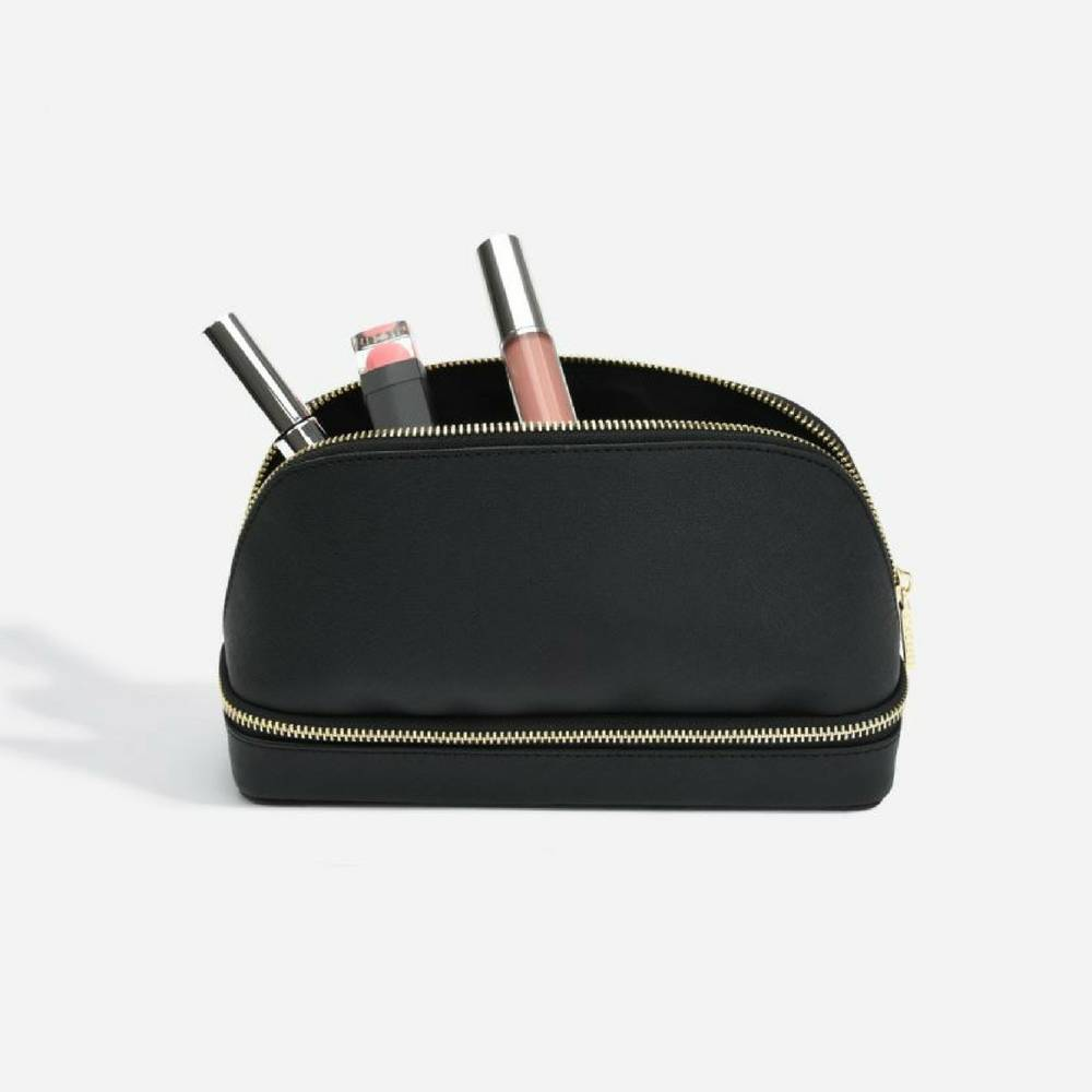 MakeUp Bag Black-1