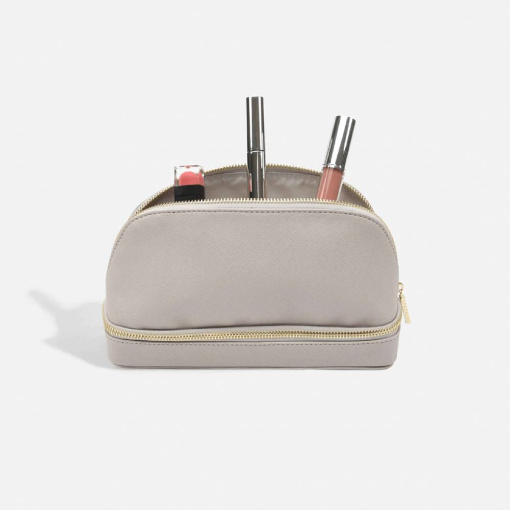 MakeUp Bag Taupe-1