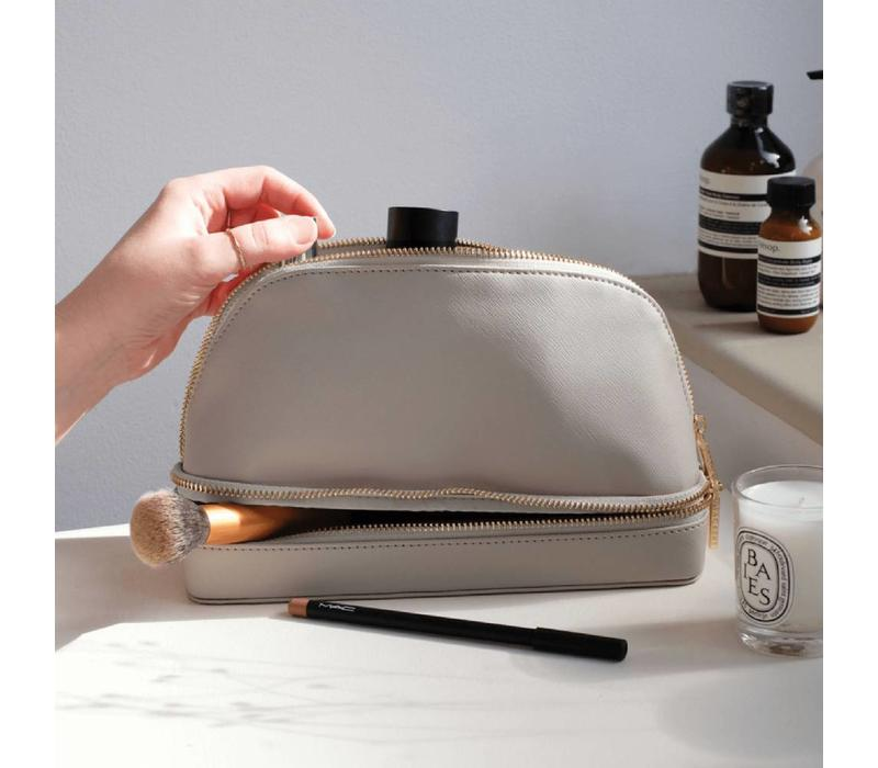 Make-Up Bag in Taupe