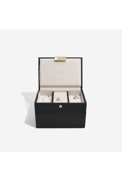 Mini Juwelendoos 2-Set | Black & Grey