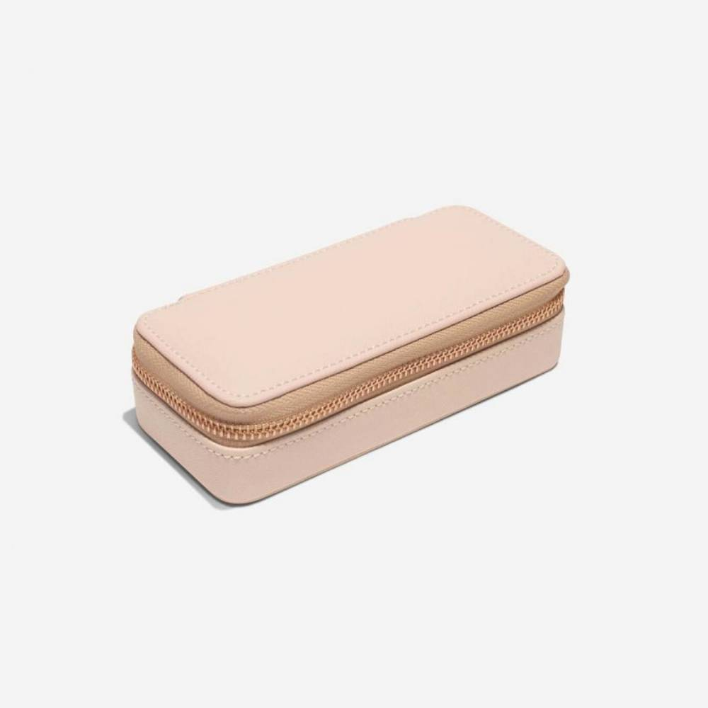 Classic Etui / Travel Box in Blush & Grey-2