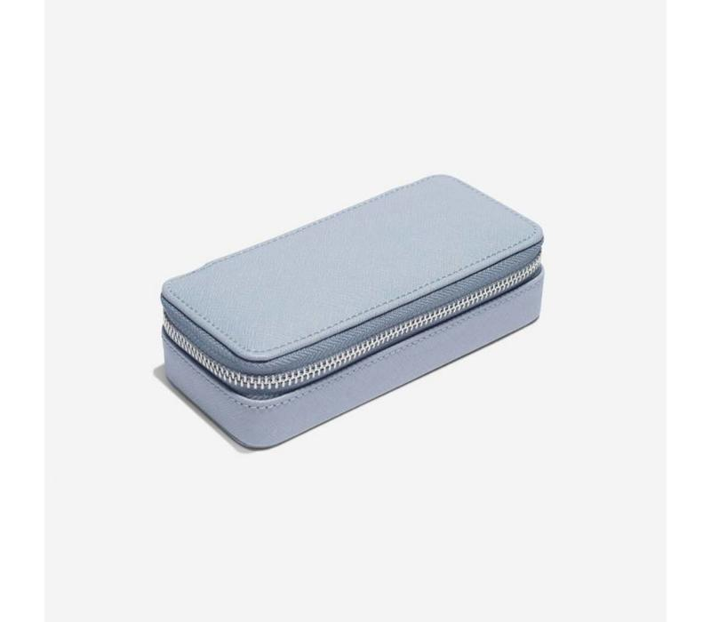 "Classic ""Etui Travel Box"" in Dusky Blue & Grey"