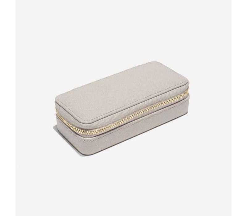 "Classic ""Etui Travel Box"" in Taupe & Grey"