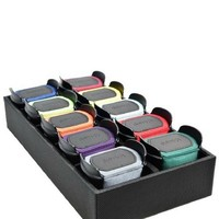 Triple Watch Winder   Black + GRATIS 10 Extra Watch Pads