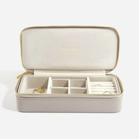 "Supersize ""Etui Travel Box"" in  Taupe & Grey"