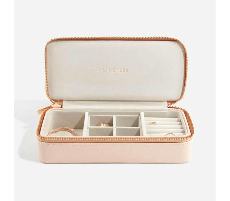 Supersize Etui Travel Box | Blush & Grey