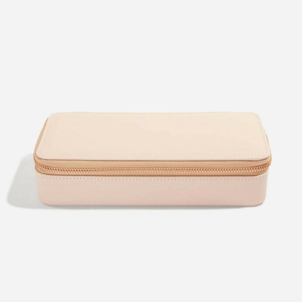 Supersize Etui / Travel Box in Blush & Grey-1