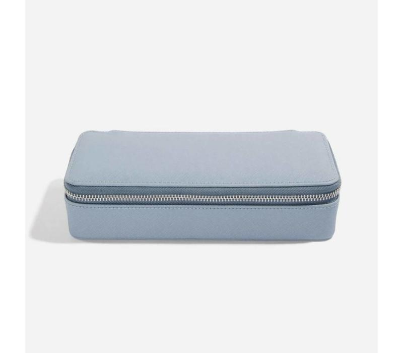 "Supersize ""Etui Travel Box"" in Dusky Blue & Grey"