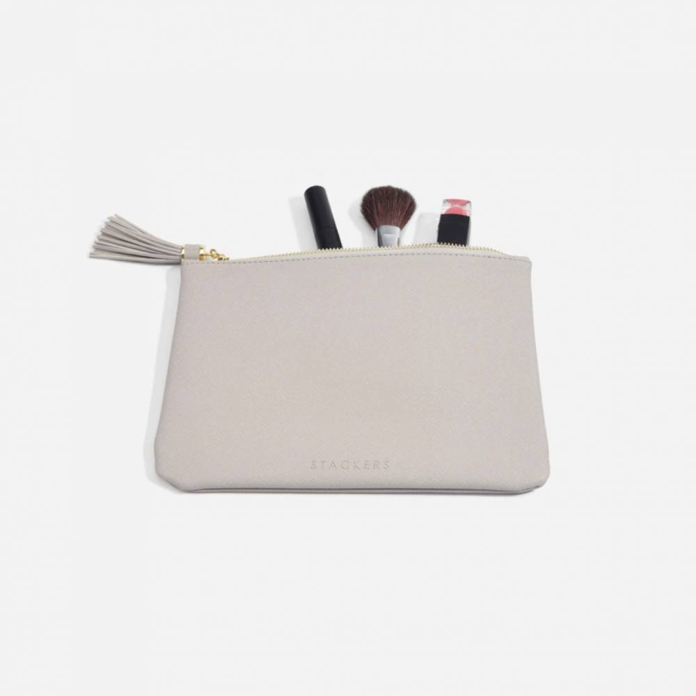 Make-Up Pouch Taupe-1