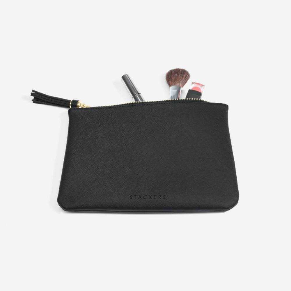 Make-Up Pouch Black-1