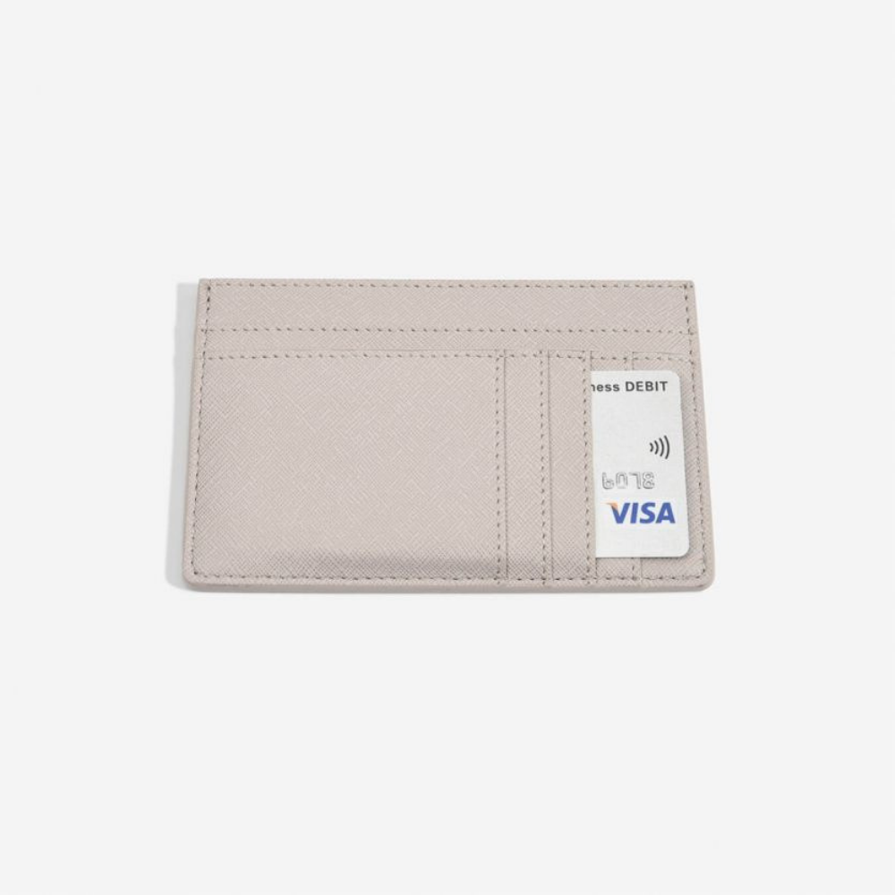 Card Holder Taupe-1