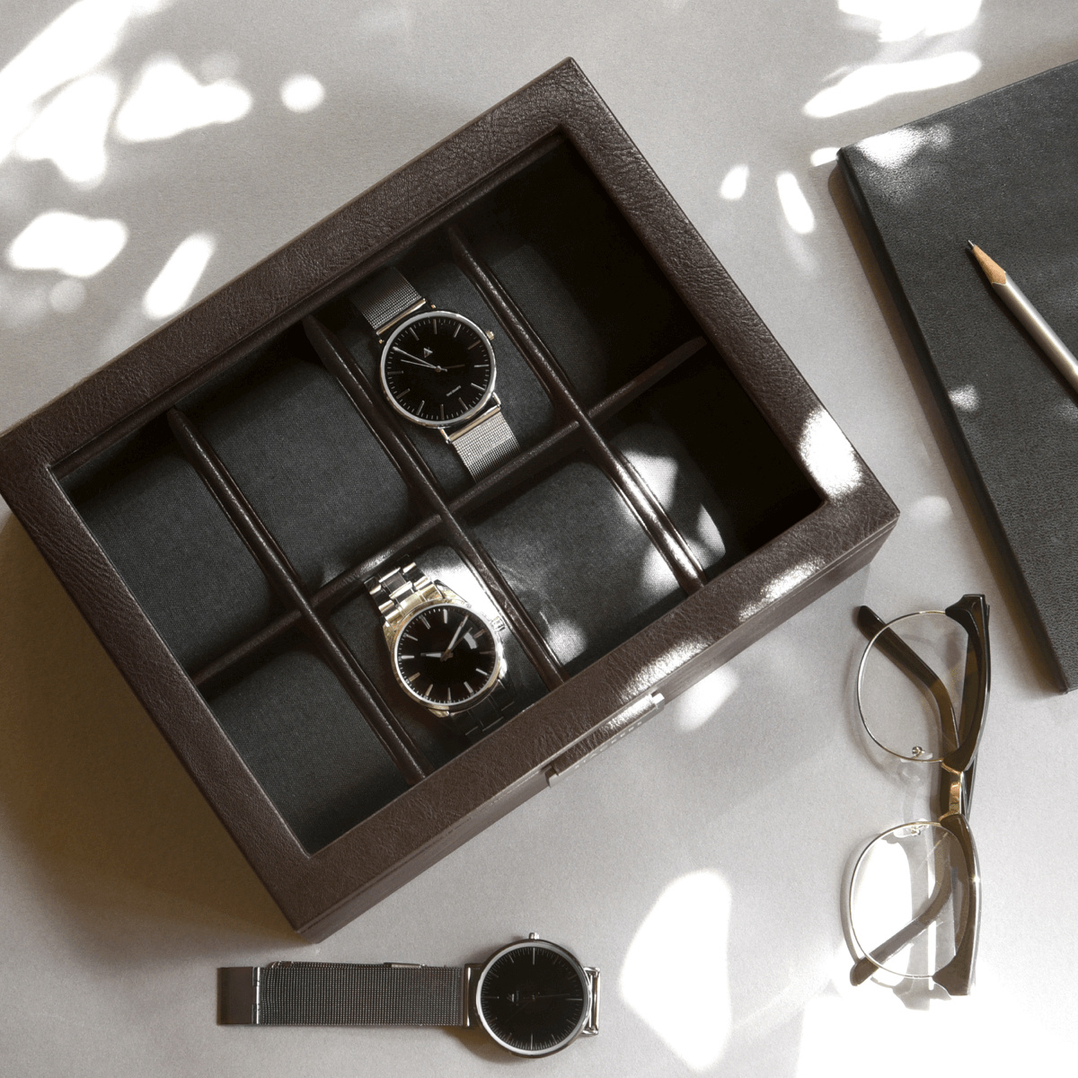 8-Watch Box Brown-1
