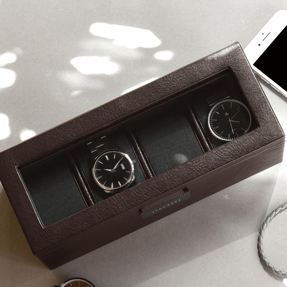 4-Watch Box Brown-1