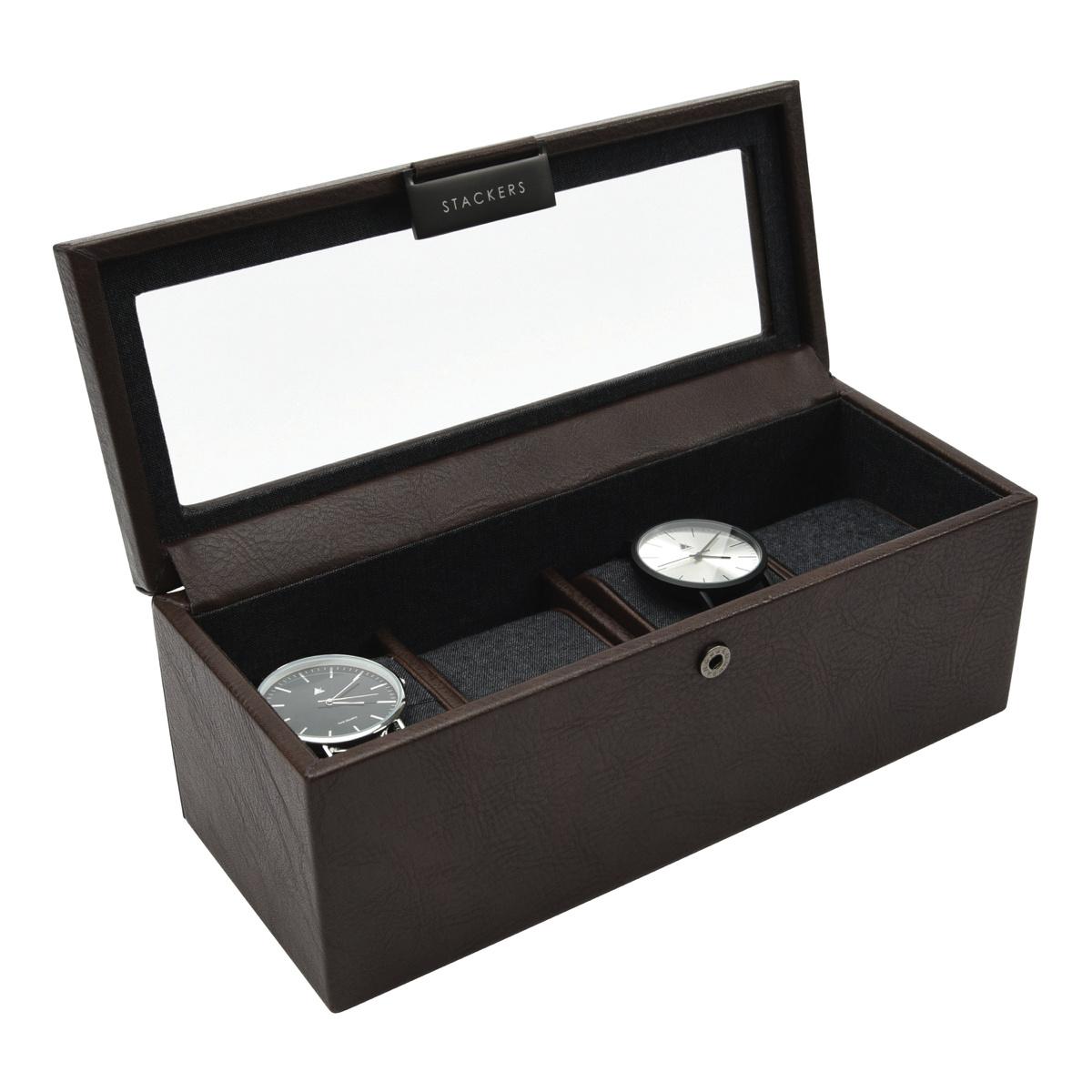 4-Watch Box Brown-2