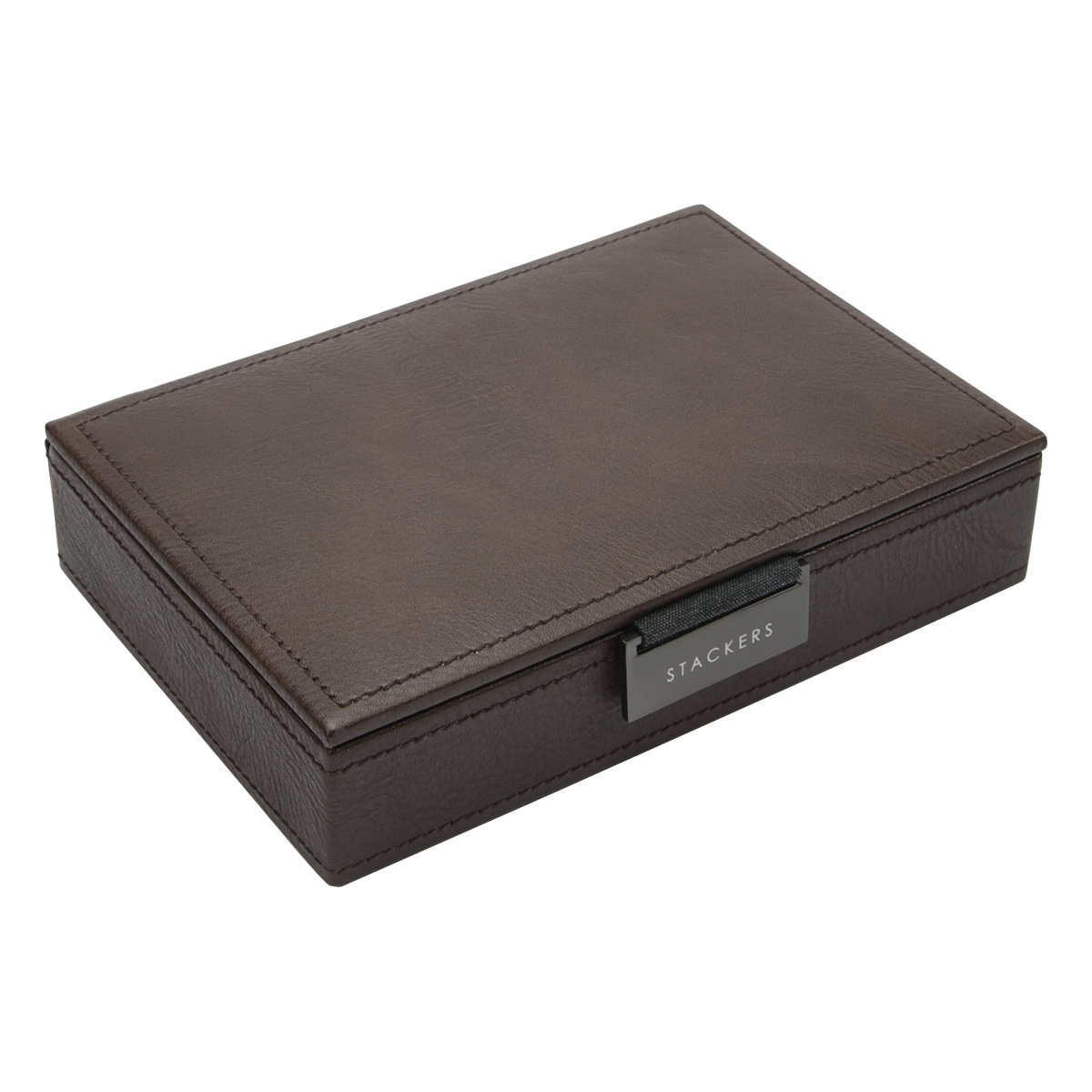 Mini Cufflink Box Brown-2