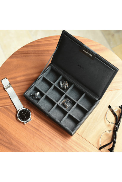 Mini Cufflink Box Black