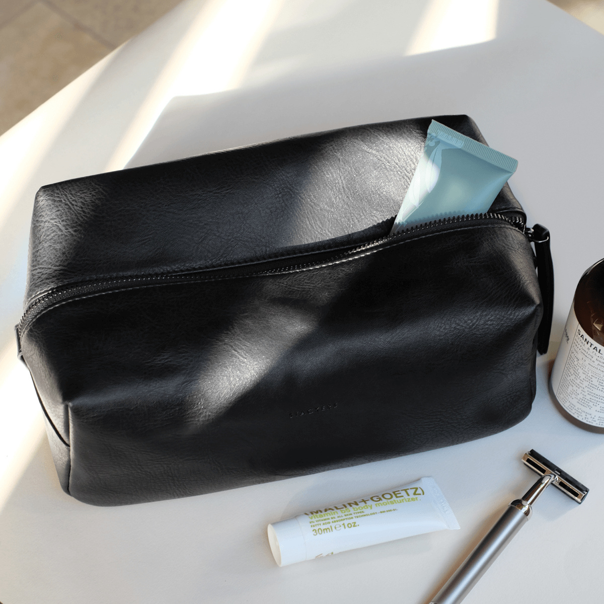 STACKERS Washbag Black-1