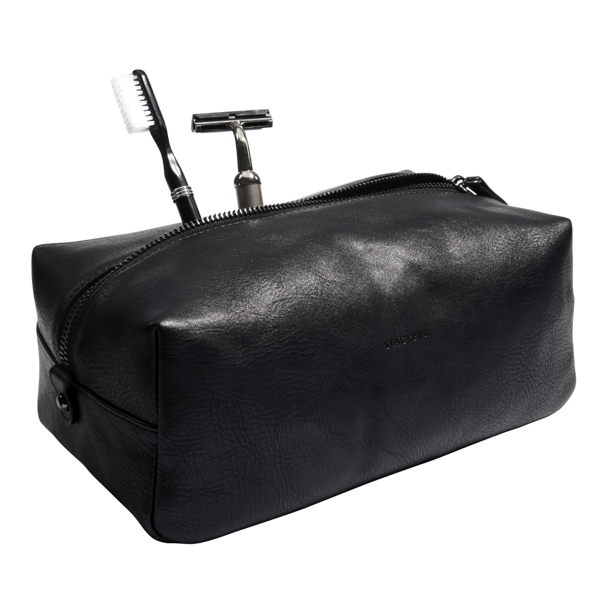 STACKERS Washbag Black-2