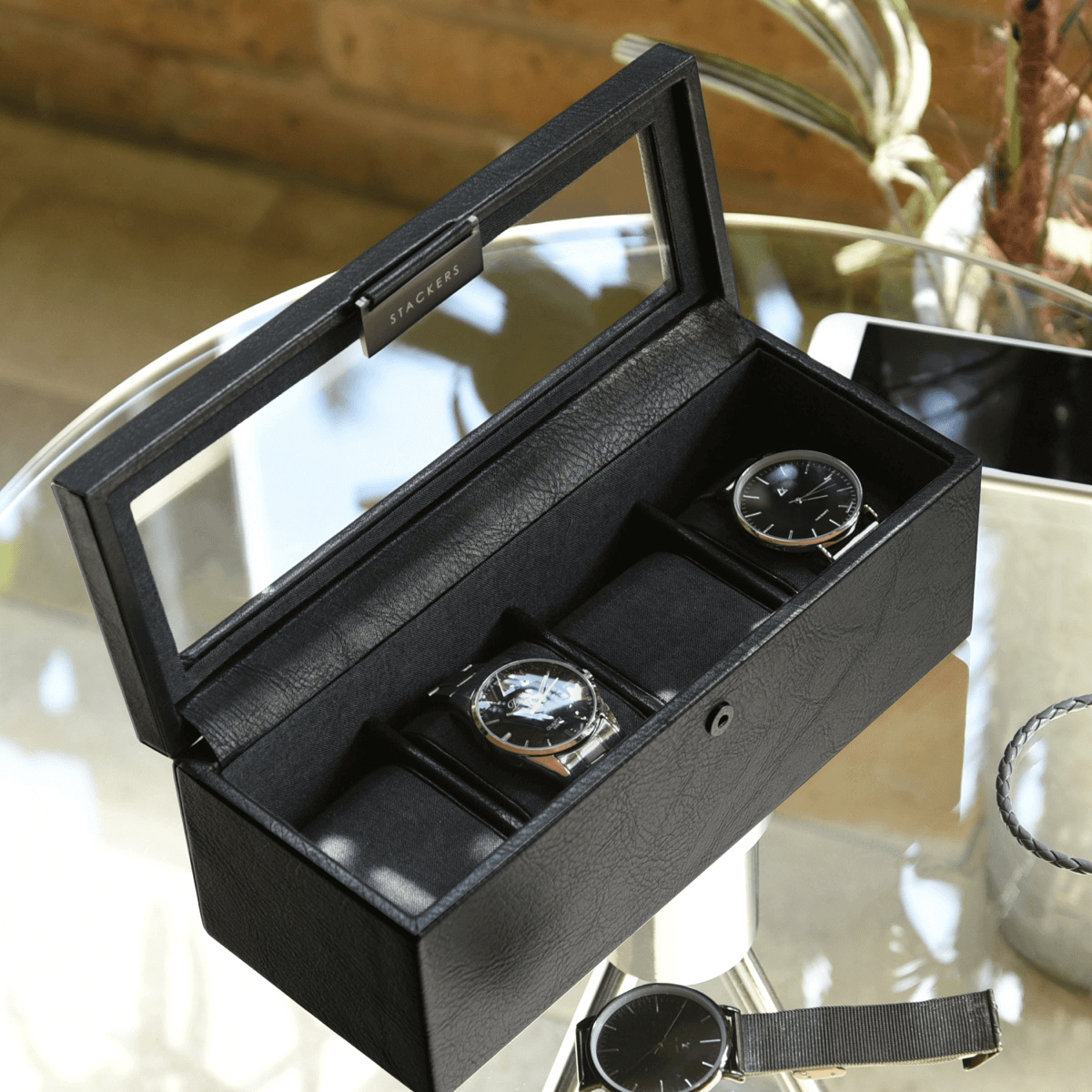 4-Watch Box Black-1