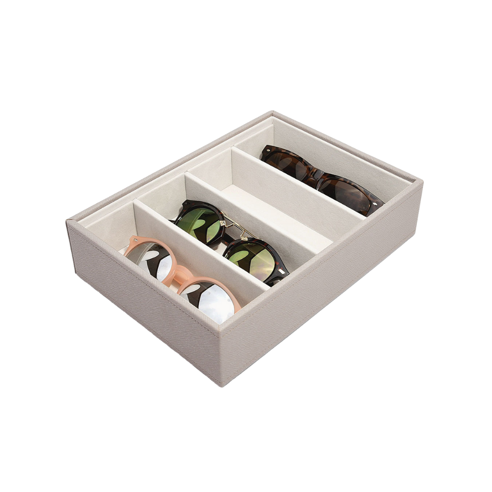 Classic Eyewear Storage Box Taupe-1