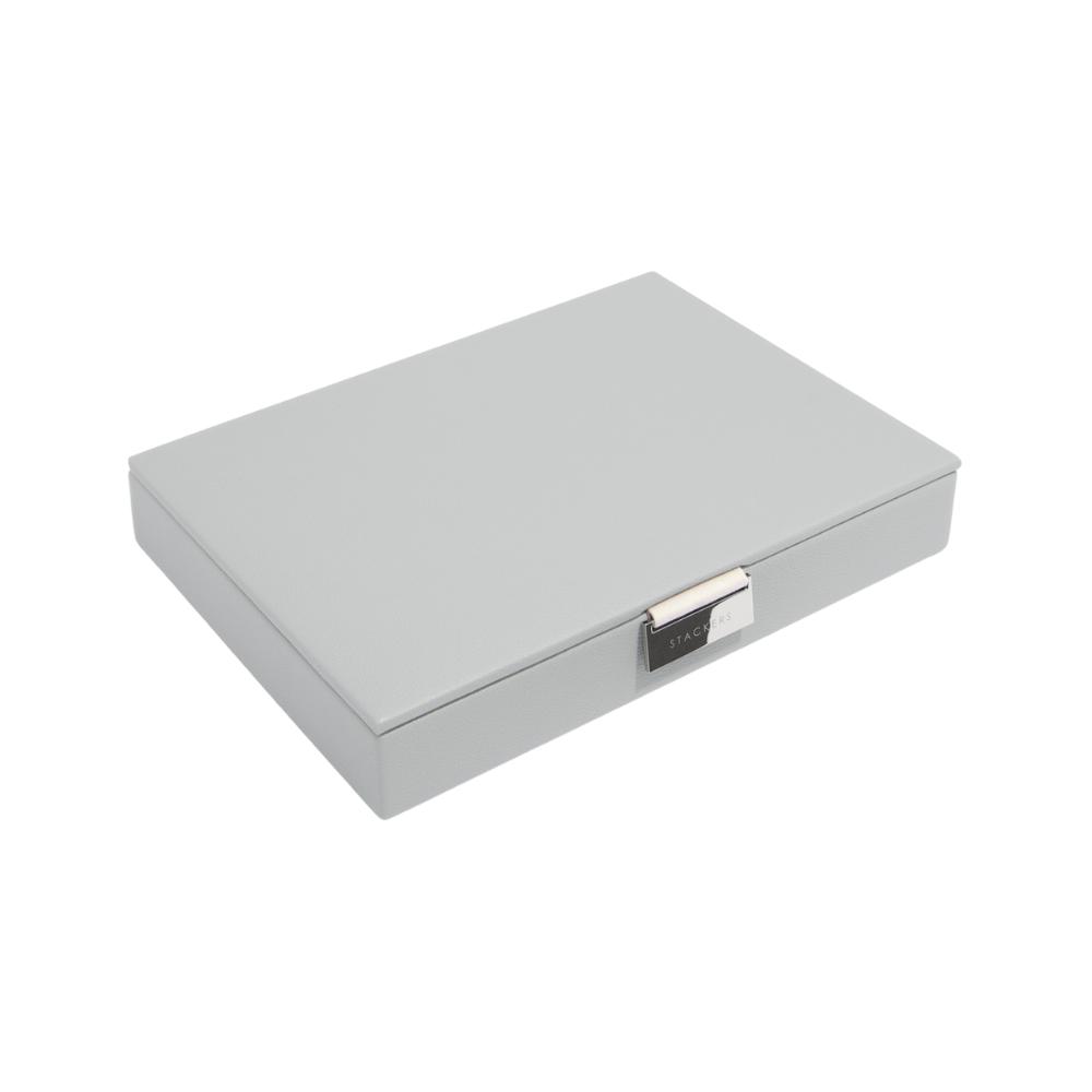 Classic Top Box Pebble Grey & Grey Velvet-1