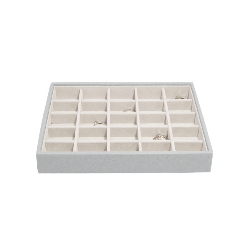 Classic 25-Section Box Pebble Grey & Grey Velvet-2