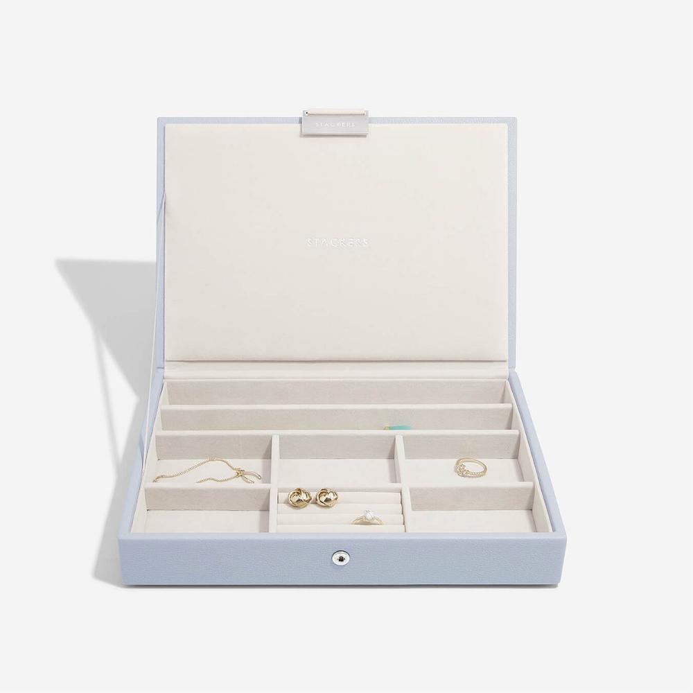 Classic Top Box Lavender & Grey Velvet-2