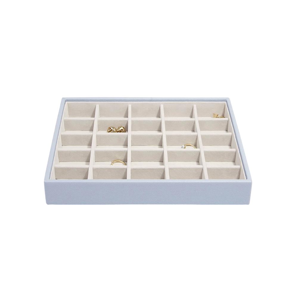 Classic 25-Section Box Lavender & Grey Velvet-2