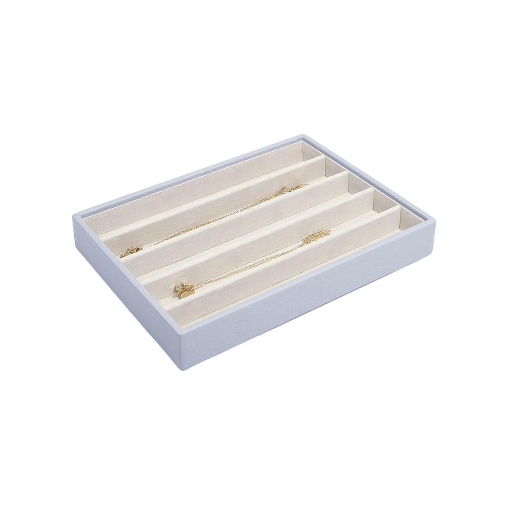 Classic 5-Section Box Lavender & Grey Velvet-1