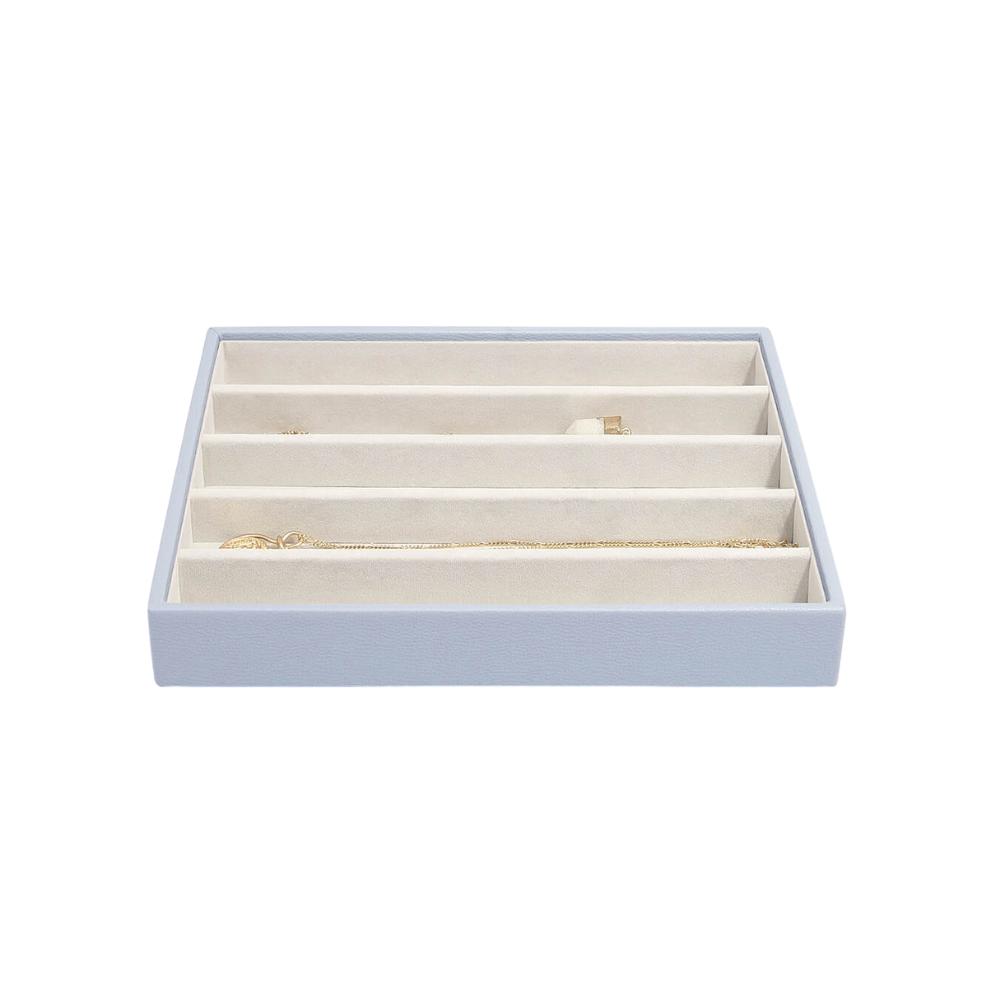 Classic 5-Section Box Lavender & Grey Velvet-2