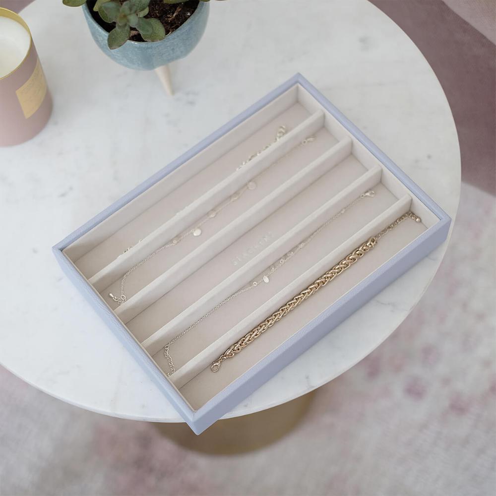 Classic 5-Section Box Lavender & Grey Velvet-3