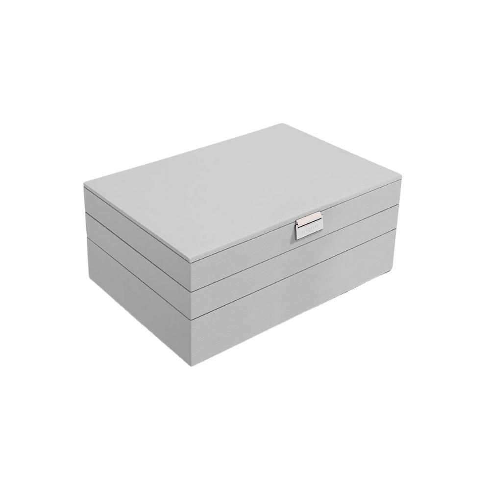 Supersize 3-Set Pebble Grey & Grey Velvet-1
