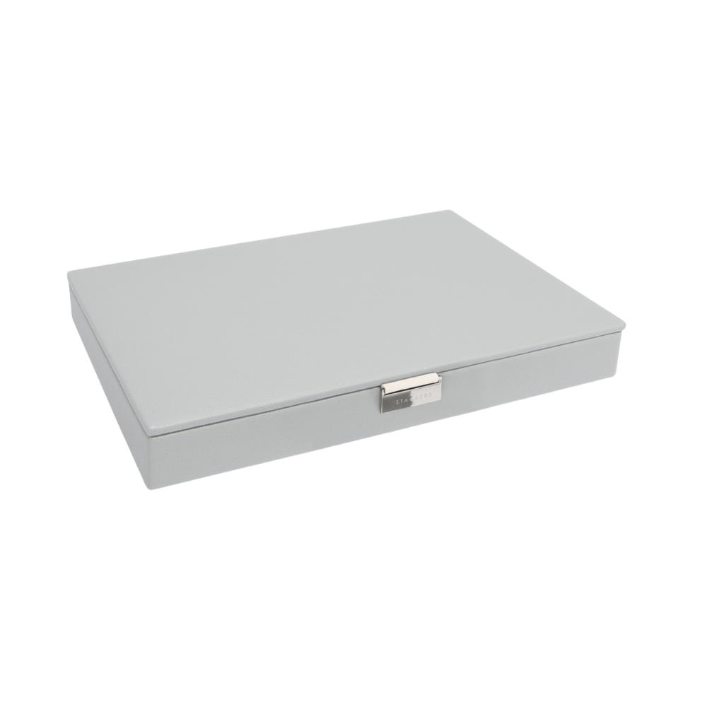 Supersize Top-Box Pebble Grey & Grey Velvet-1