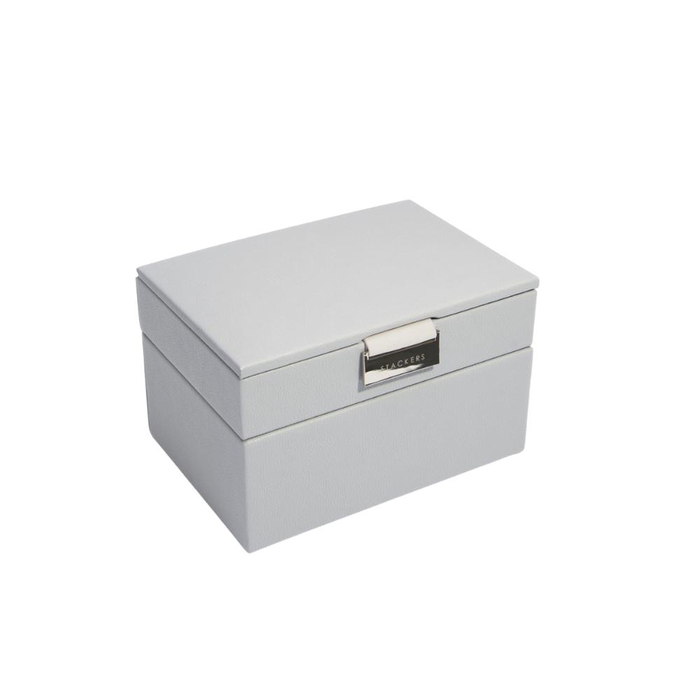Mini 2-Set Pebble Grey & Grey Velvet-1