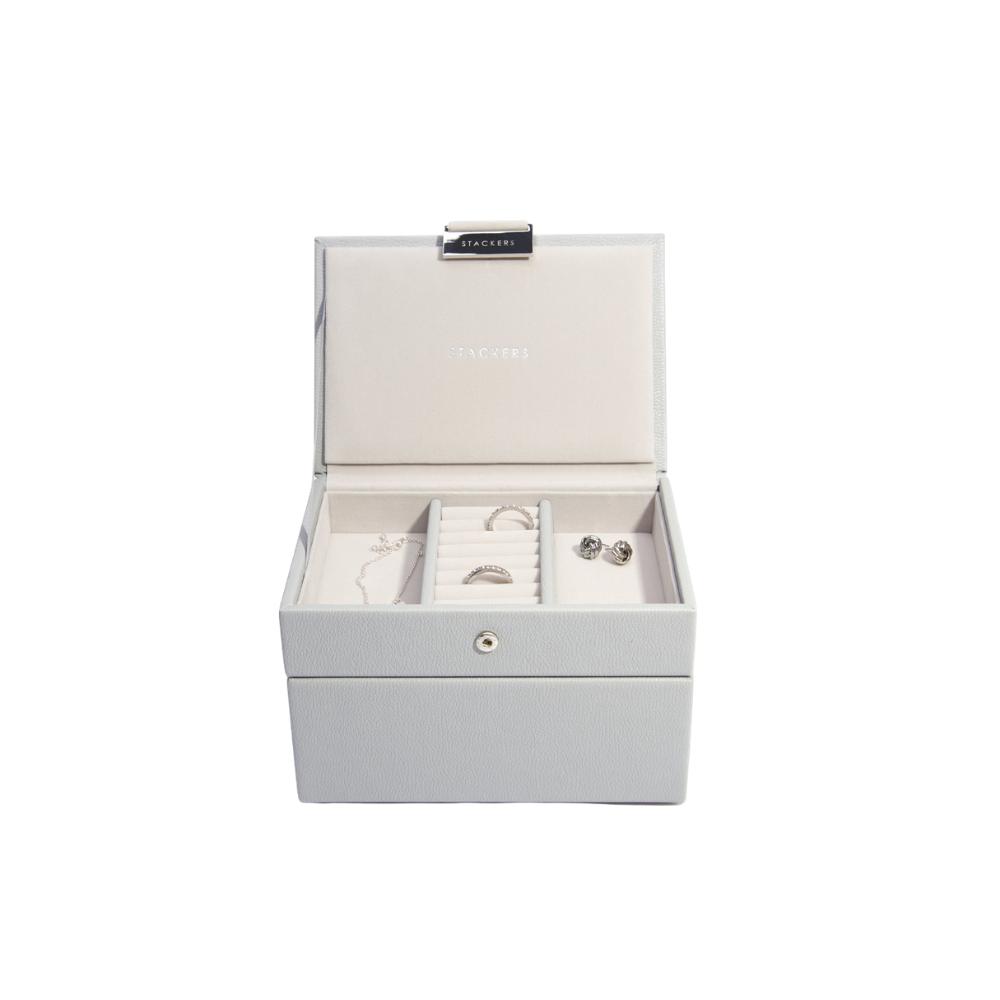 Mini 2-Set Pebble Grey & Grey Velvet-4
