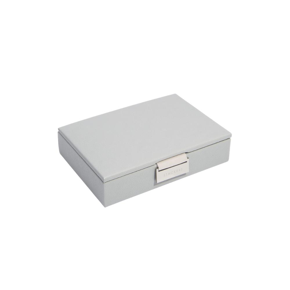 Mini Top Pink Pebble Grey & Grey Velvet-1