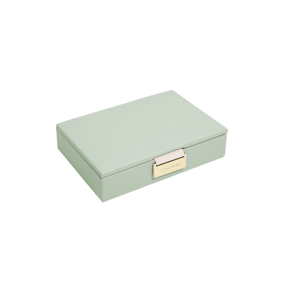 Mini 2-Set Sage Green & Grey Velvet-2
