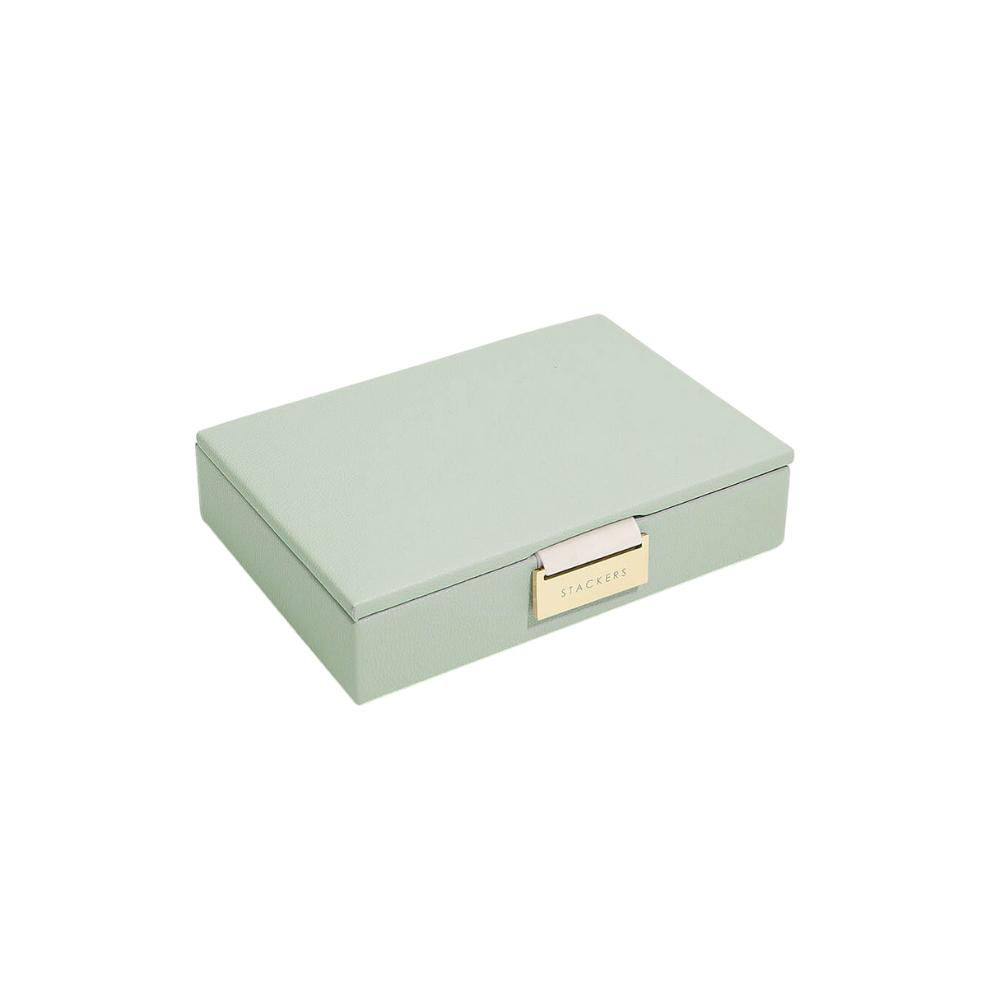 Mini Top Pink Sage Green & Grey Velvet-1