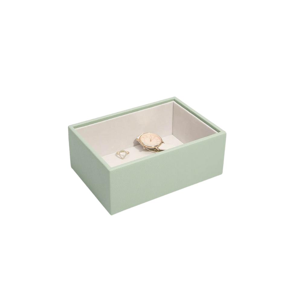 Mini Open Box Sage Green & Grey Velvet-1