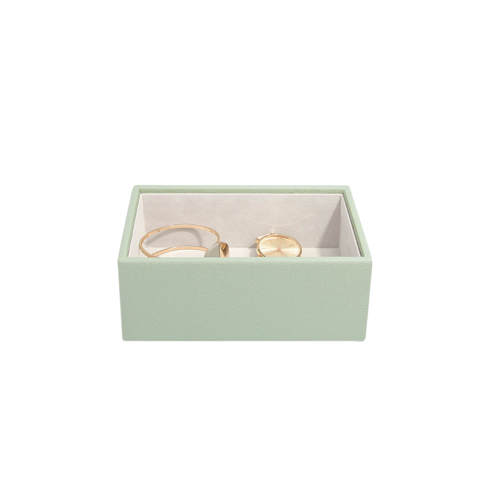 Mini Open Box Sage Green & Grey Velvet-2