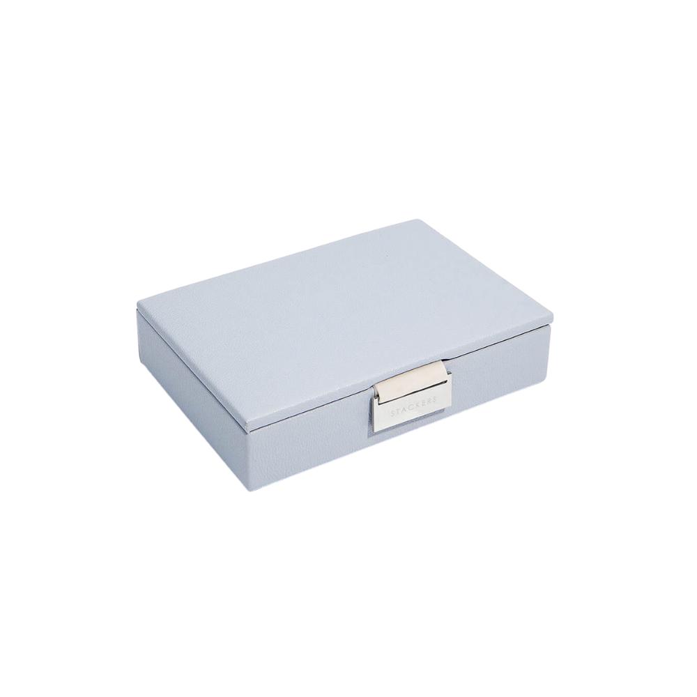 Mini Top Box Lavender & Grey Velvet-1