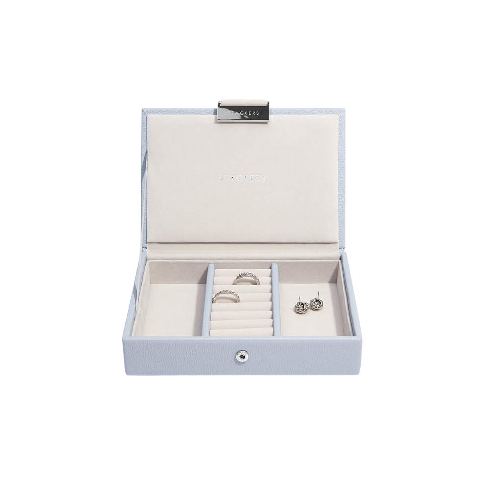 Mini Top Box Lavender & Grey Velvet-2