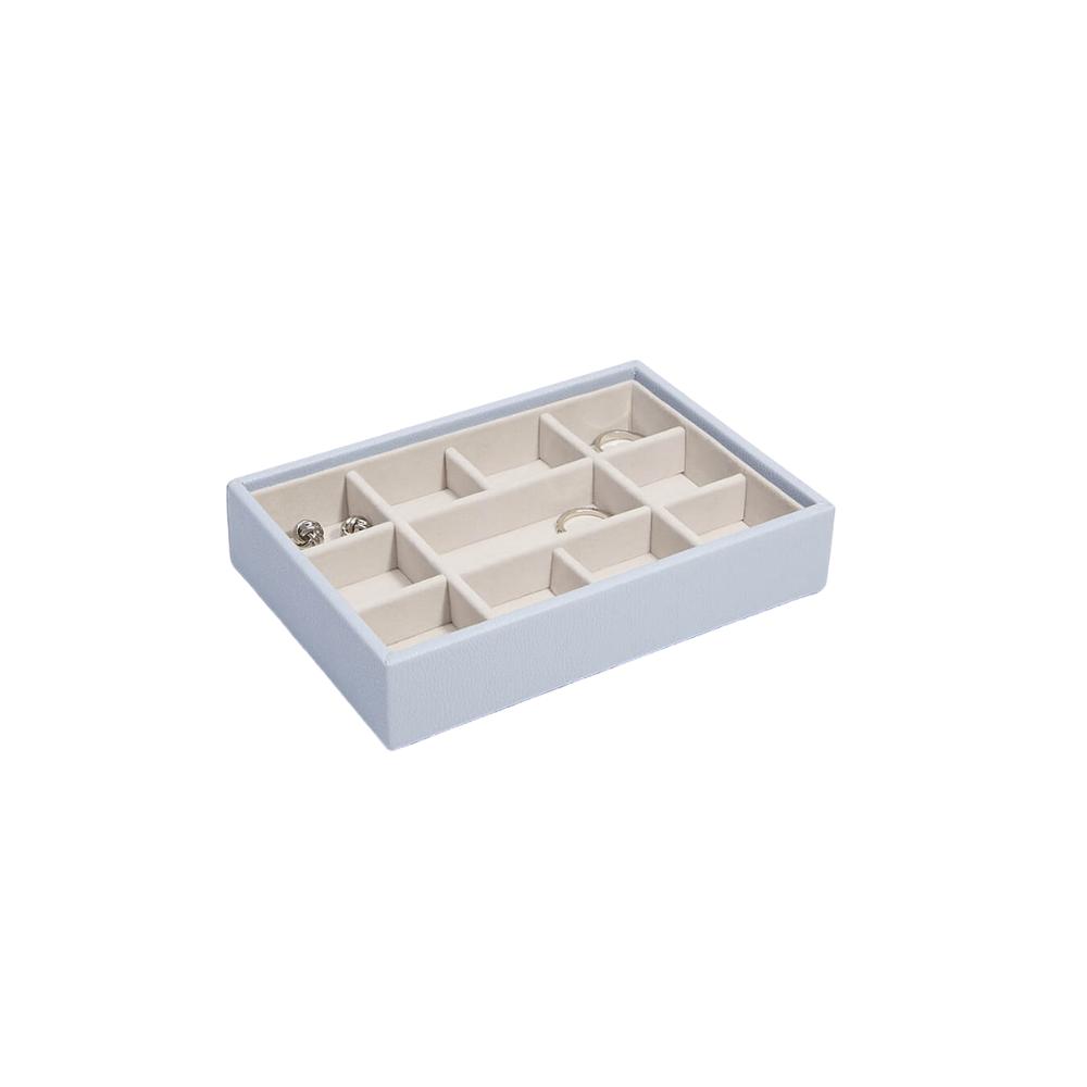 Mini 11-Section Box Lavender & Grey Velvet-1