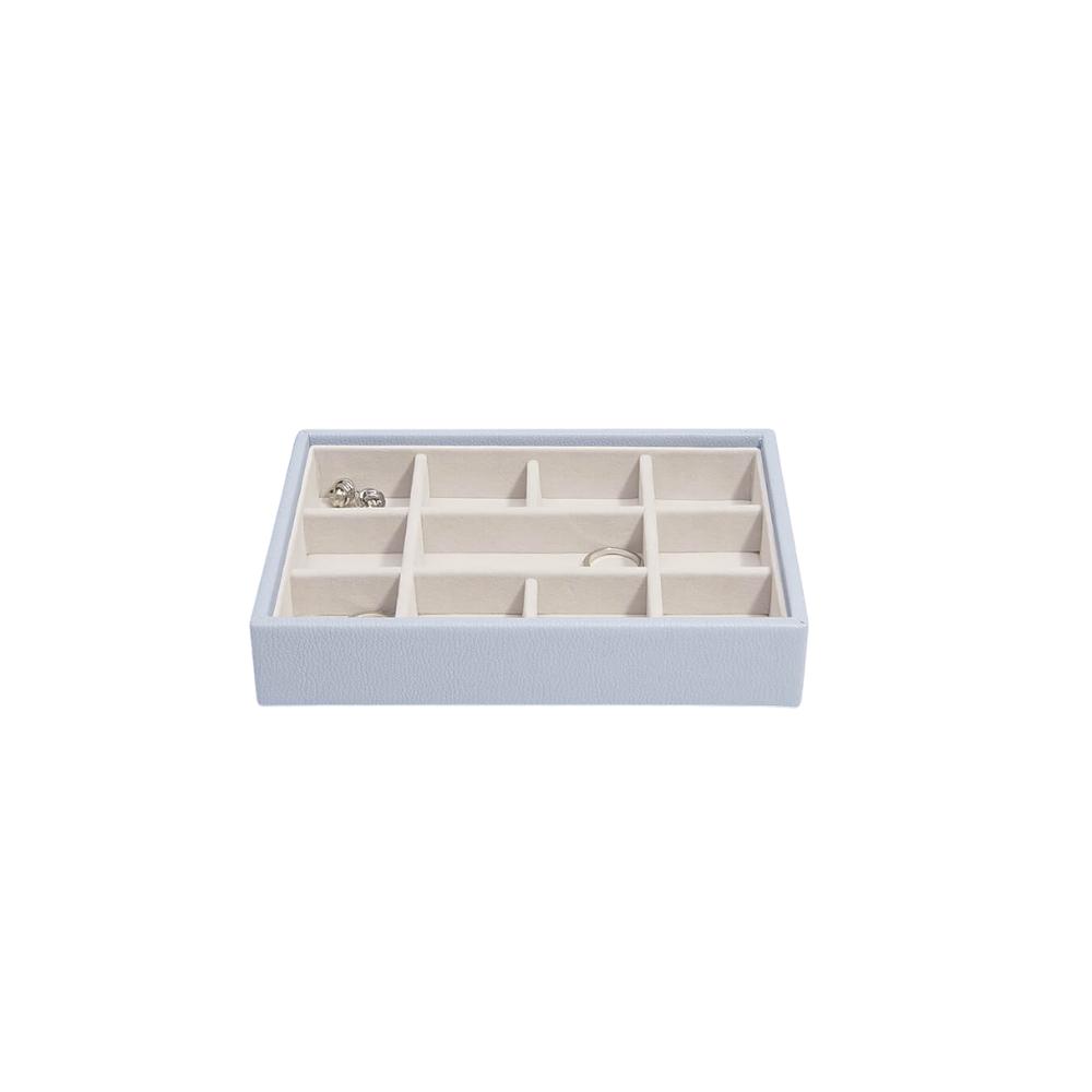 Mini 11-Section Box Lavender & Grey Velvet-2