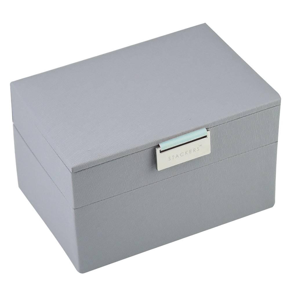 Mini 2-Set in Dove Grey & Mint-1