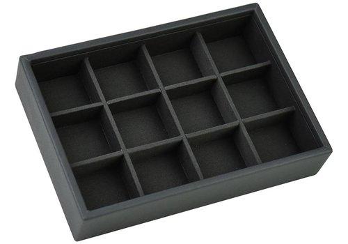 STACKERS Mini Stacker voor Manchetknopen in Charcoal Grey