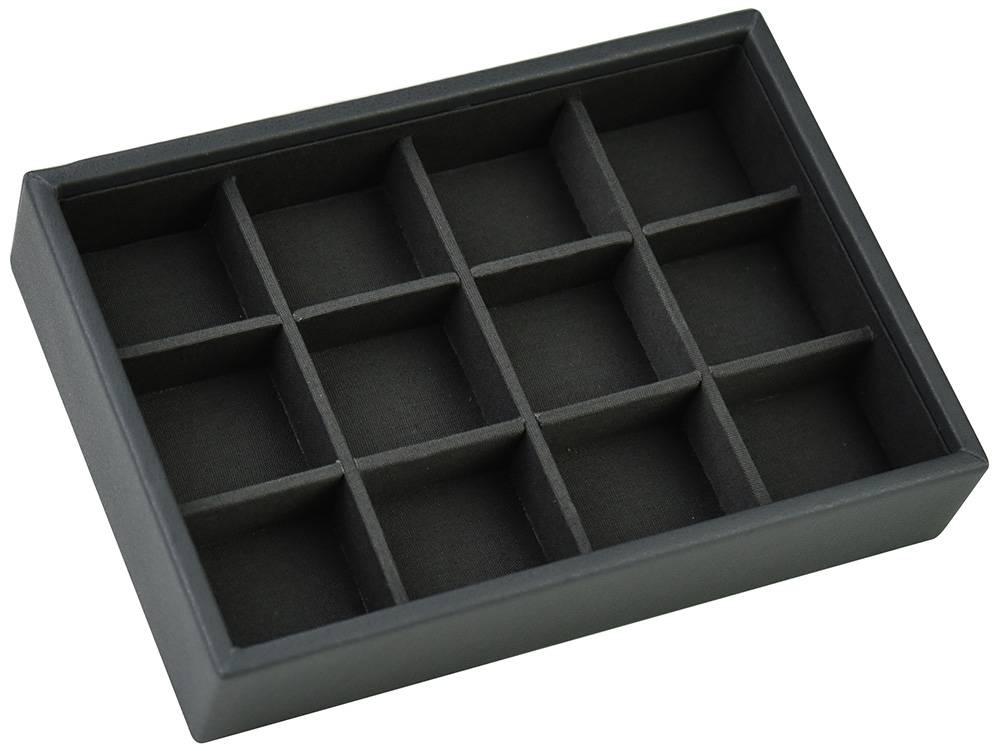 Mini Stacker pour Boutons de Manchette en Charcoal Grey-1