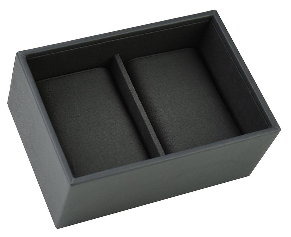 Box Mini voor Horloges in Charcoal Grey-1