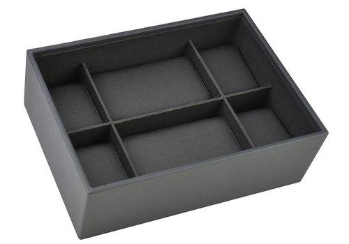 STACKERS Box Classic voor Horloges in Charcoal Grey