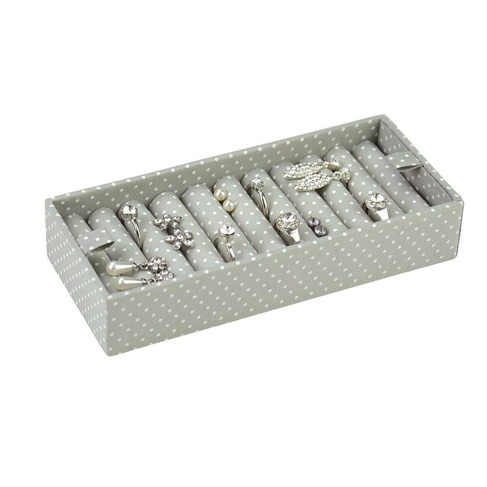 Ring Box voor Soft Pink & Grey Spot-1